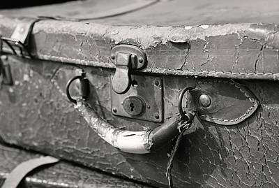 Photograph - Leave Old Luggage Behind  by Jerry Cordeiro