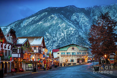 Leavenworth Alpine View Art Print by Inge Johnsson