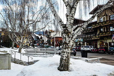 Photograph - Leavenworth Lights Remain by Tom Cochran