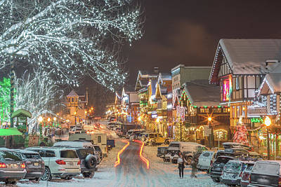 Photograph - Leavenworth Nightlife by LiveforBlu Gallery