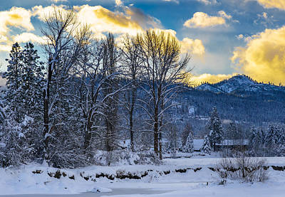 Photograph - Leavenworth Pano 1/3 by LiveforBlu Gallery