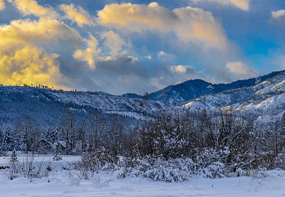 Photograph - Leavenworth Pano 2/3 by LiveforBlu Gallery