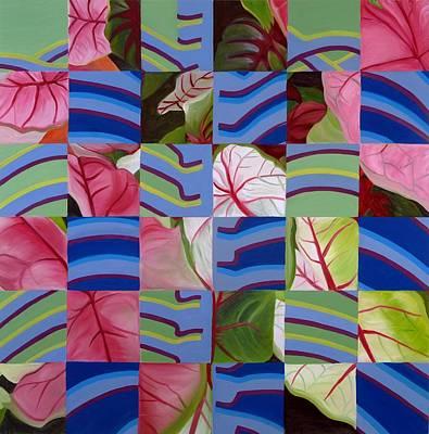 Leaves And Bones Art Print by Sunhee Kim Jung