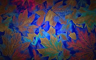Leaves During Fall Art Print by Labron Jacobs
