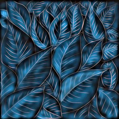 Painting - Leaves by Gabriella Weninger - David