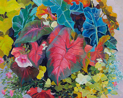 Painting - Leaves by Judith Barath
