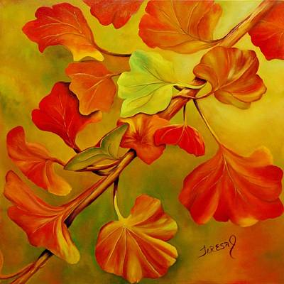 Painting - Leaves Of Autumn by Teresa Lynn Johnson