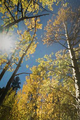 Digital Art - Leaves Of Fall by Steve Kelley