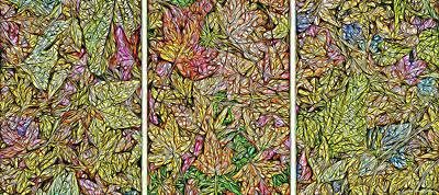 Digital Art - Leaves Of Sycamore Dreaming by Joel Bruce Wallach