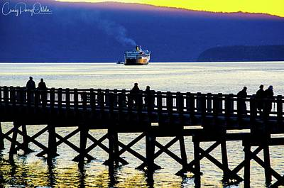 Photograph - Leaving Bellingham by Craig Perry-Ollila