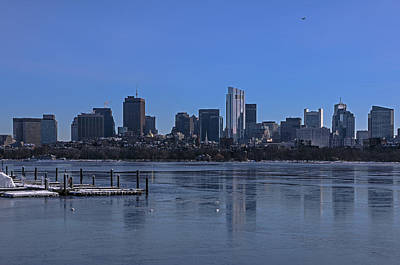 Photograph - Leaving Boston by Juergen Roth