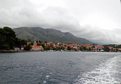 Photograph - Leaving Cavtat by Pema Hou