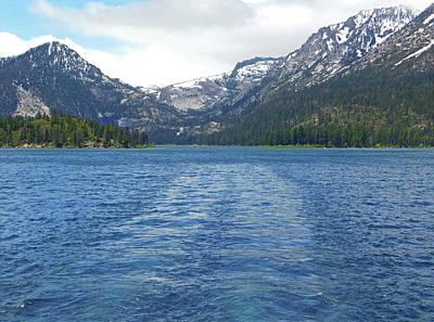 Photograph - Leaving Emerald Bay by Emmy Vickers