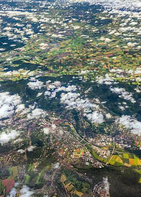 Photograph - Leaving Frankfurt by Alexander Kunz