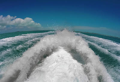 Watercraft Photograph - Leaving It All Behind by Betsy Knapp
