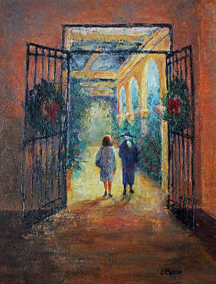 Painting - Leaving La Valencia by Jill Musser