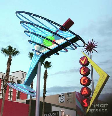 Photograph - Leaving Las Vegas by LeLa Becker