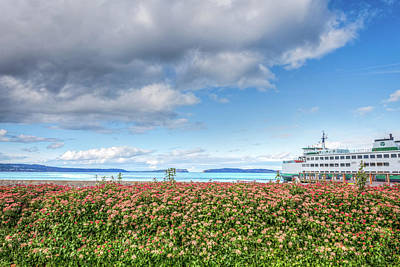 Photograph - Leaving Mukilteo by Spencer McDonald