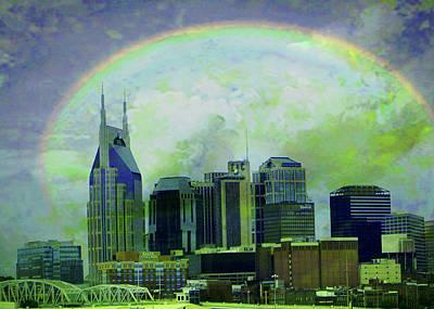 Etc Digital Art - Leaving Nashville by Janet Duffey