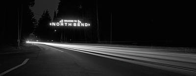 Photograph - Leaving North Bend by HW Kateley