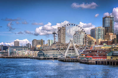 Photograph - Leaving Seattle by Spencer McDonald