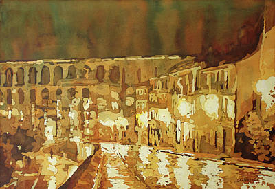 Painting - Leaving Segovia by Jenny Armitage