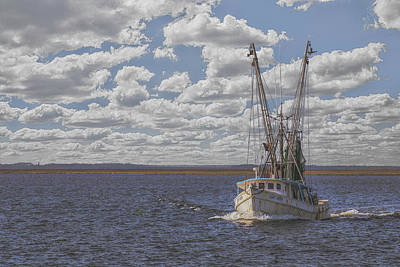 Photograph - Leaving Swan Quarter by Jim Dollar