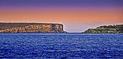 Photograph - Leaving Sydney By Boat In Sunset by Miroslava Jurcik