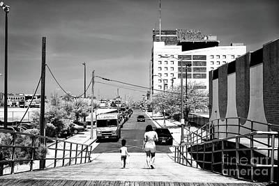 Photograph - Leaving The Boardwalk by John Rizzuto