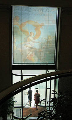 Photograph - Leaving The National Gallery Of Art by Cora Wandel