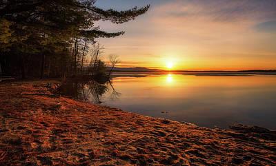 Photograph - Leavitt Beach Sunrise by Robert Clifford