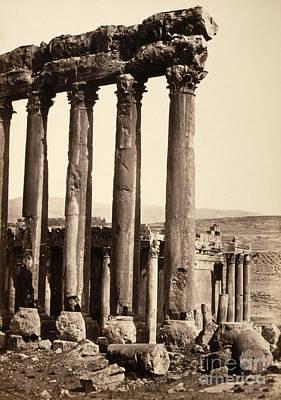 Photograph - Lebanon, Baalbek, C1860.  by Granger