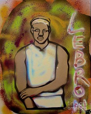Lebron James Street Art Original by Tony B Conscious
