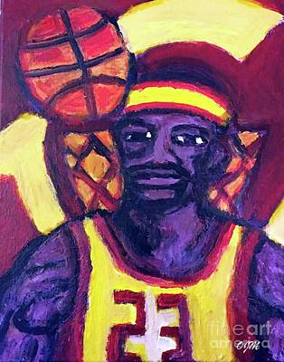 Lebron James.v2 Mvp Champ Original by Owen McCafferty
