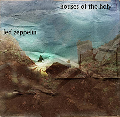Def Leppard Painting - Led Zepp Houses Of The Holy  by Enki Art