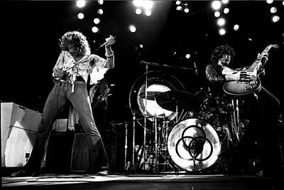 Led Zeppelin 1973 Art Print