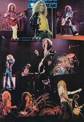 Led Zeppelin 1977 Art Print by James Fortune