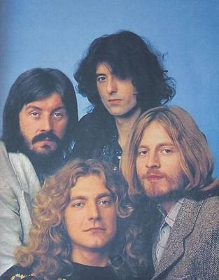 Led Zeppelin Art Print by Donna Wilson