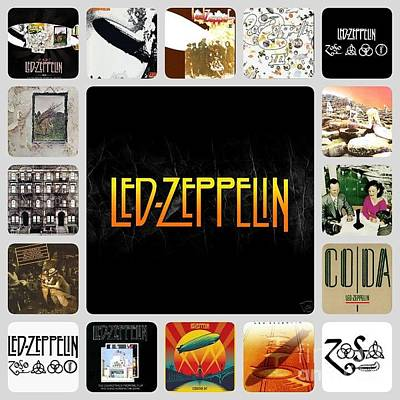 Photograph - Led Zeppelin by John S