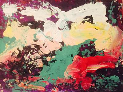 Leda And The Swan II Art Print