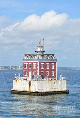 Photograph - Ledge Lighthouse by Michelle Welles