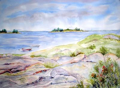 Painting - Ledges Of Granite by Diane Kirk