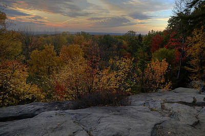 Photograph - Ledges Overlook by Ann Bridges