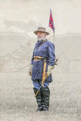 Lee At Appomattox Art Print by Randy Steele