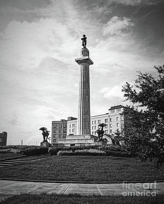 Photograph - Lee Circle New Orleans by Kathleen K Parker