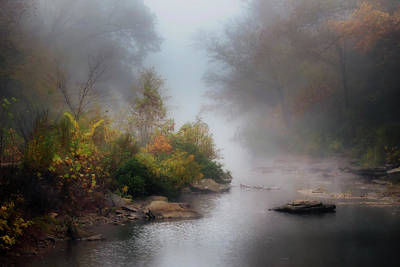 Photograph - Lee Creek by James Barber