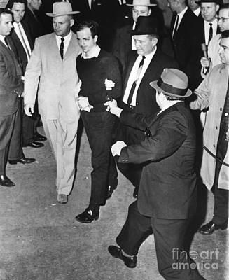 Oswald Photograph - Lee Harvey Oswald by Granger