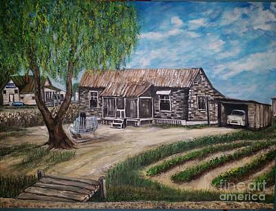 Lee Homeplace    E. T Wells Plantation Original by Katie Adkins