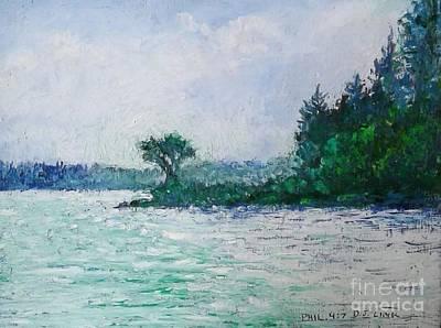 Wall Art - Pastel - Leech Lake River 1 by Debra Link