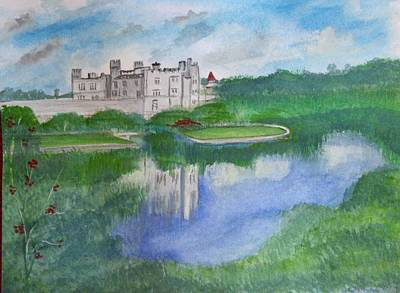 Painting - Leeds Castle  by Carole Robins